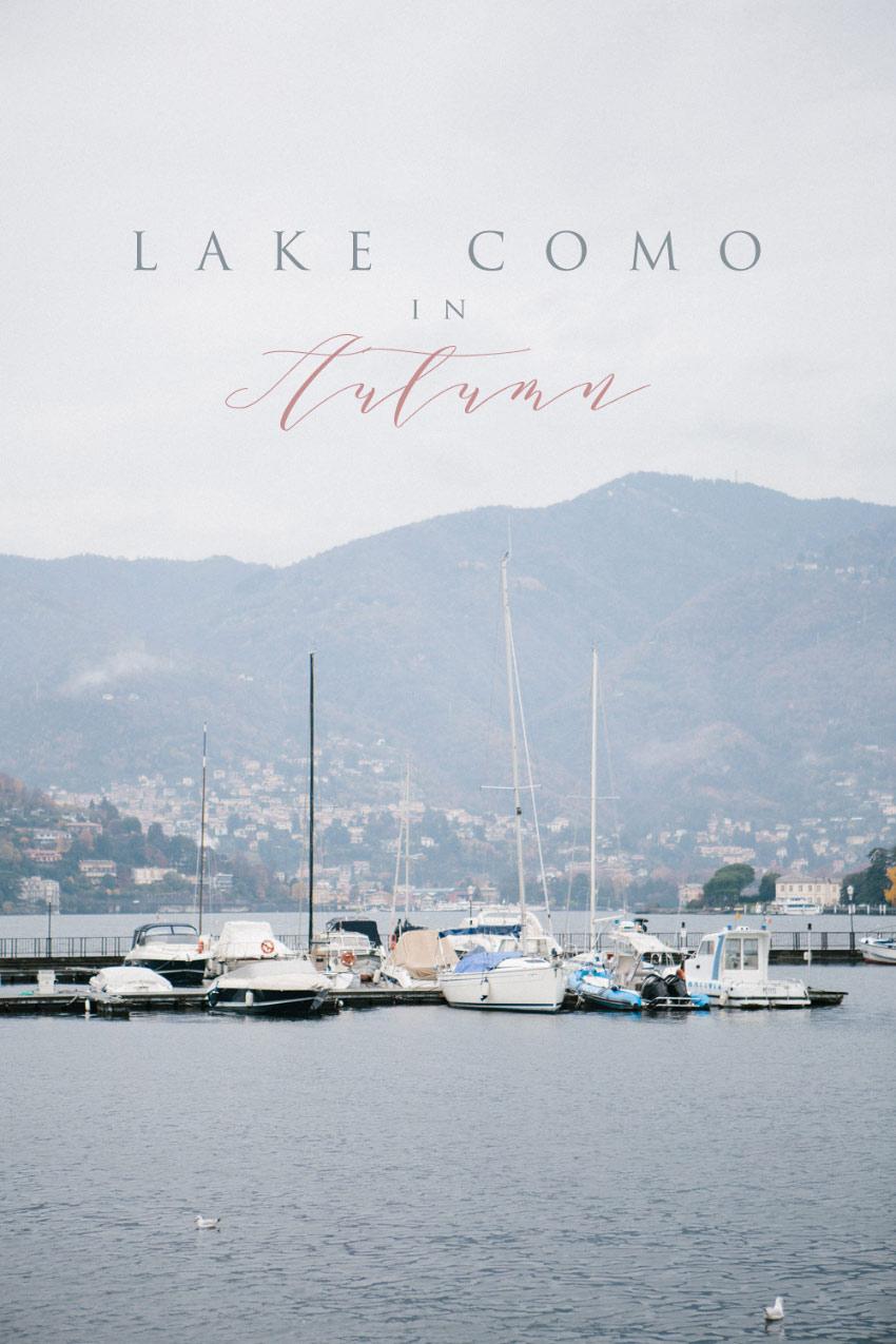 Lake Como in Autumn - Destination