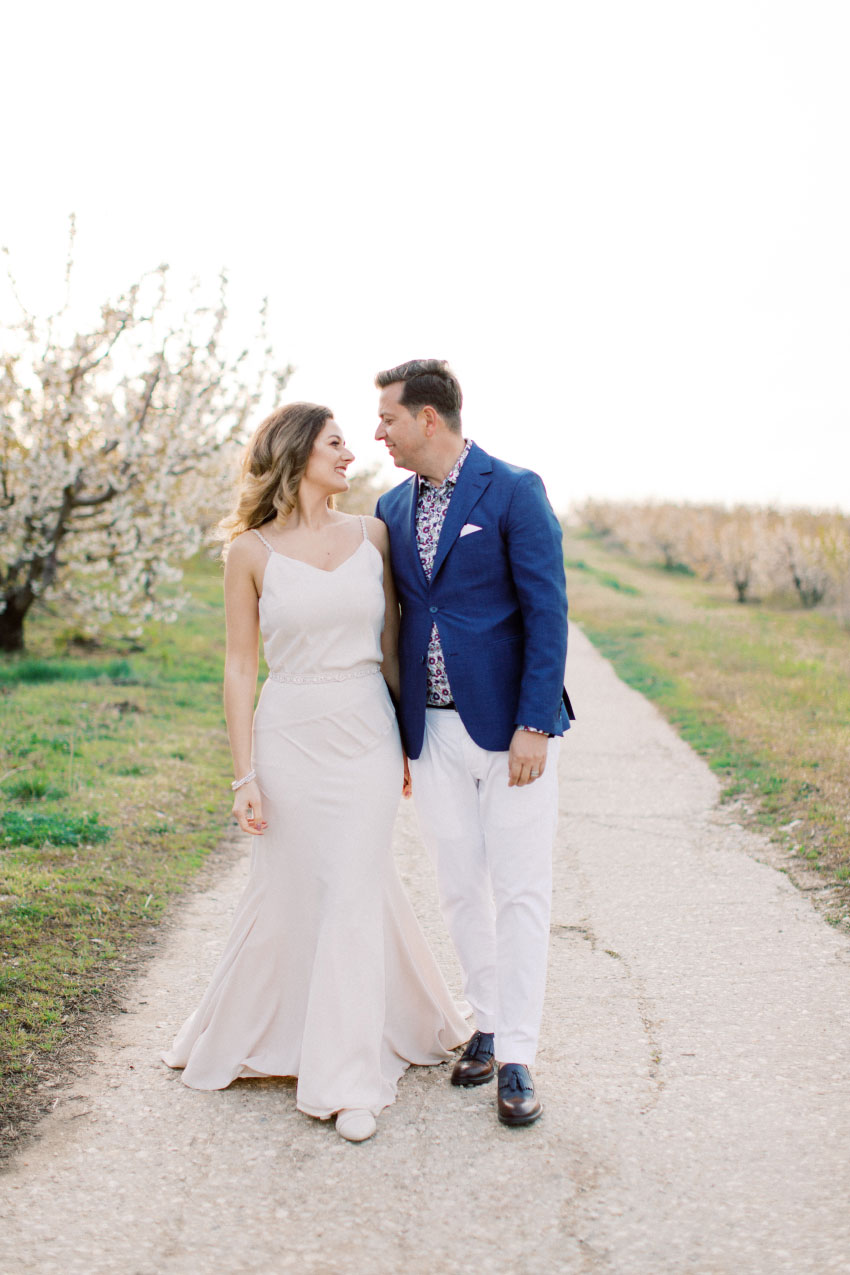 Elvira and Liviu - Romantic Spring celebration