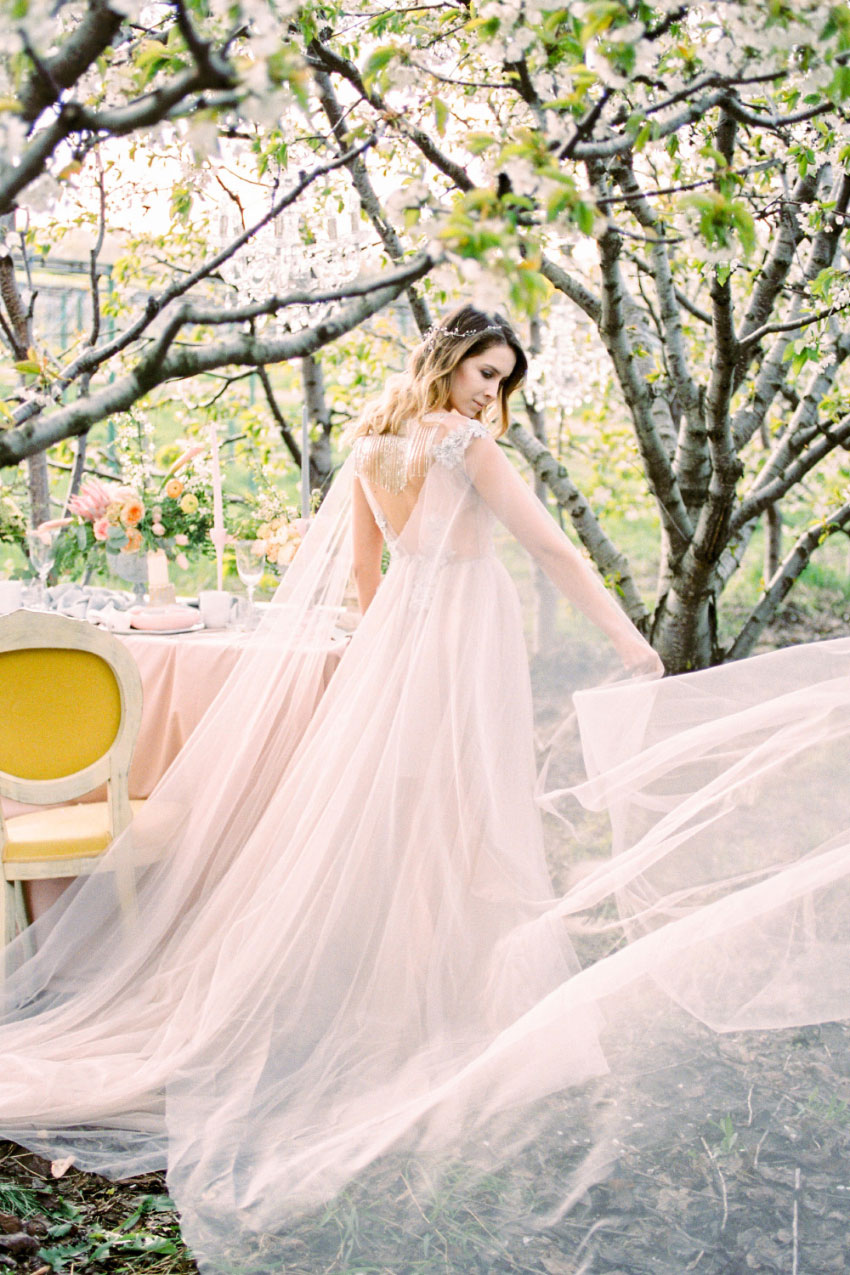 Ethereal Spring - Styled Shoots