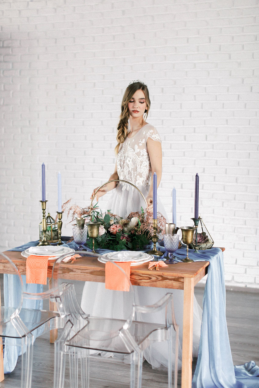 Into the Blues - Styled Shoots
