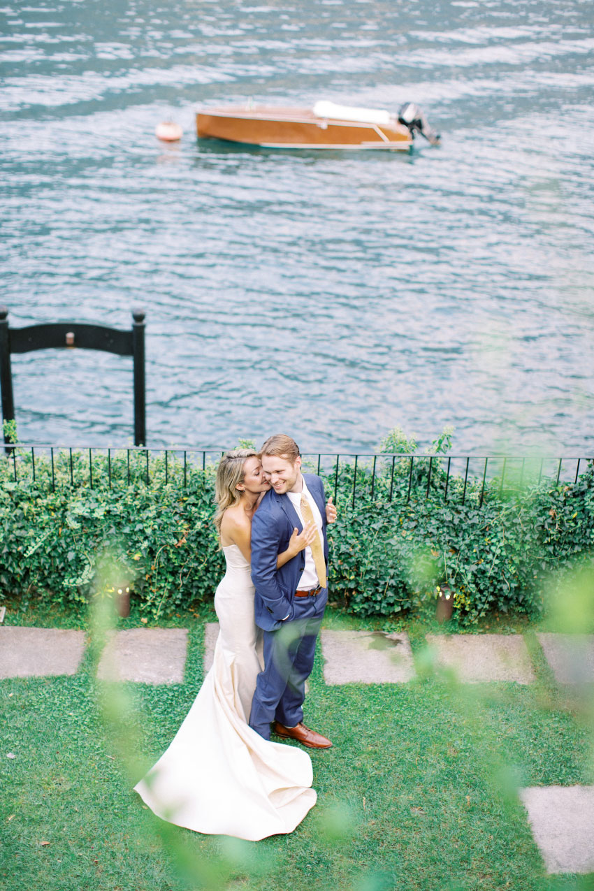 Maren & Alex - Como, Italy {Wedding}