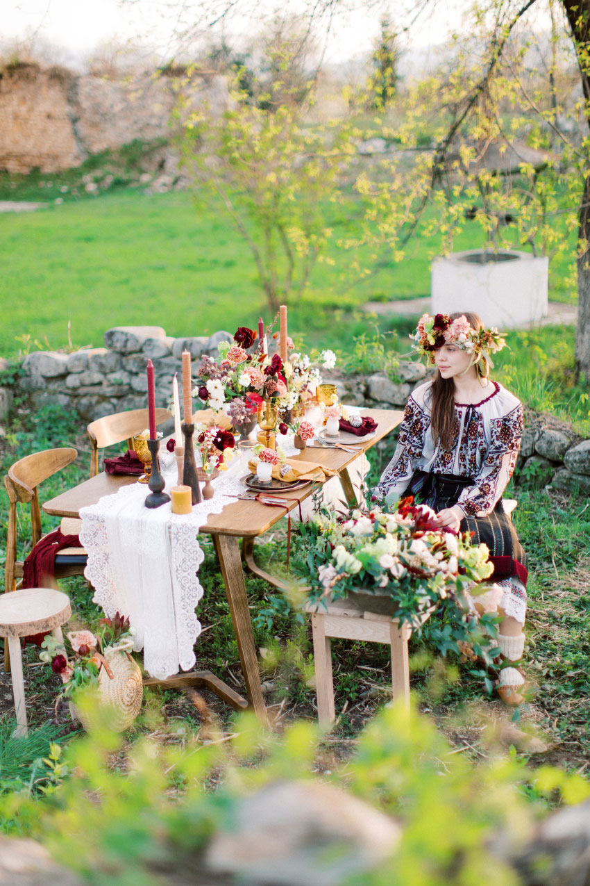 Romantic Easter Traditions Inspiration - Styled Shoots