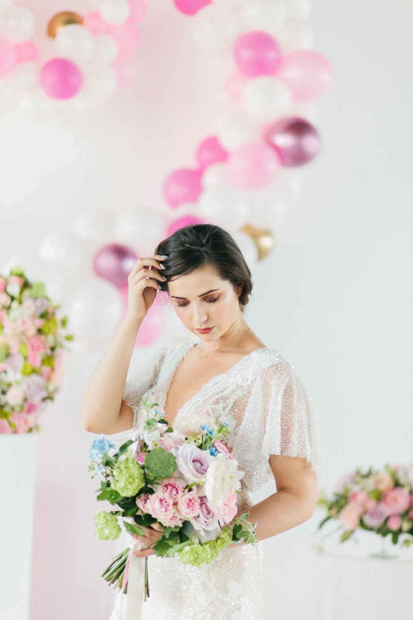 Studio Blush Wedding Styled Shoot