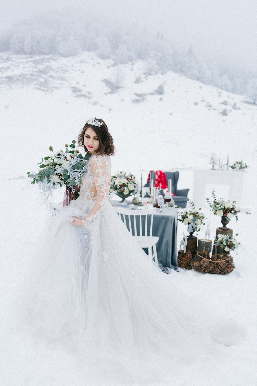 Winter Shades of Grey - Styled Shoots